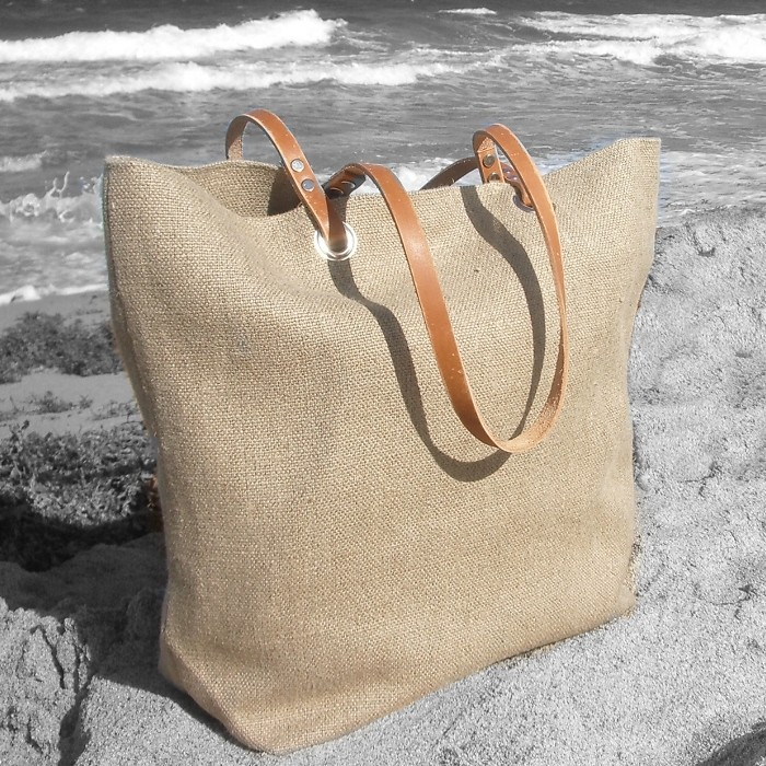 Jute Beach Bag Manufacturer, Supplier And Exporter - Toptrans Jute